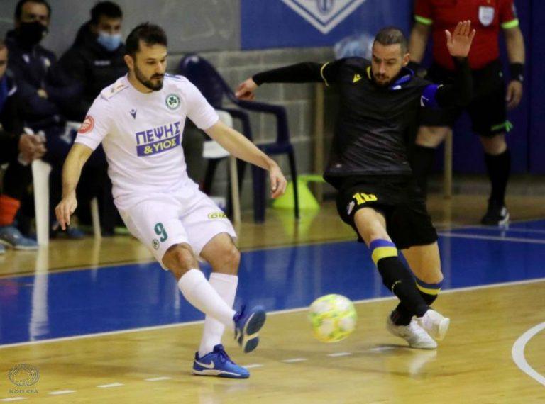 Πρωτάθλημα Futsal: ΑΠΟΕΛ – Ομόνοια 4-5, ΑΕΛ – ΑΕΚ 6-7