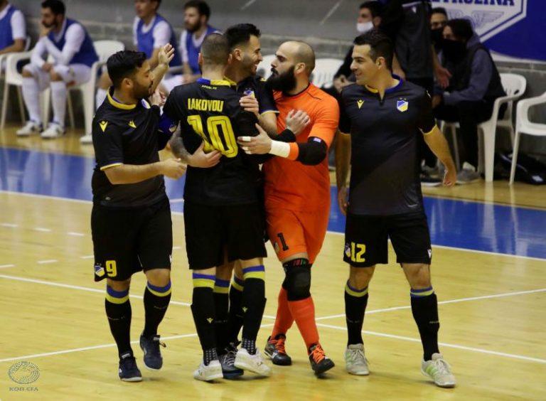 Πρωτάθλημα Futsal: Διπλό για ΑΠΟΕΛ!