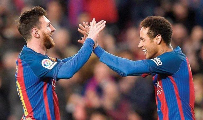 L' Equipe: «Ο Μέσι πιέζει τον Νεϊμάρ να επιστρέψει στην Μπαρτσελόνα»