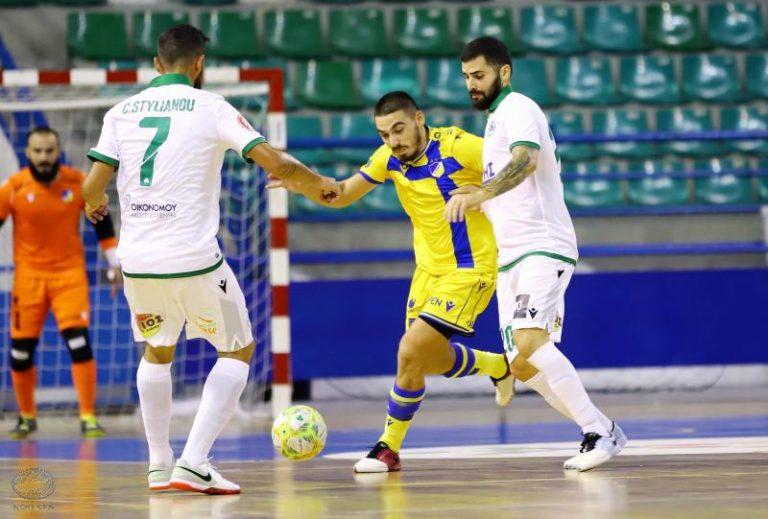 Πρεμιέρα την ερχόμενη Πέμπτη στο Πρωτάθλημα Futsal (τηλεοπτικές μεταδόσεις)