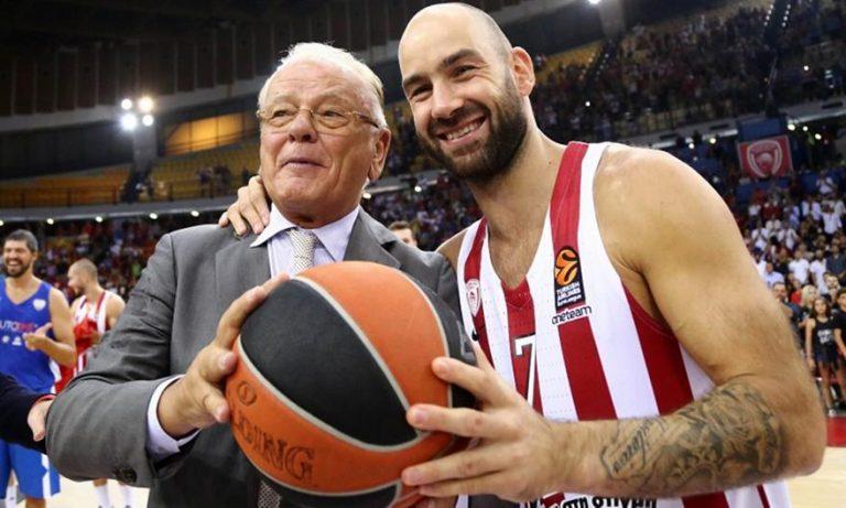Σπανούλης για Ίβκοβιτς: «Δάσκαλε, ηγέτη σε ευχαριστώ για όσα μου δίδαξες. Υπήρξες μέντοράς μου»