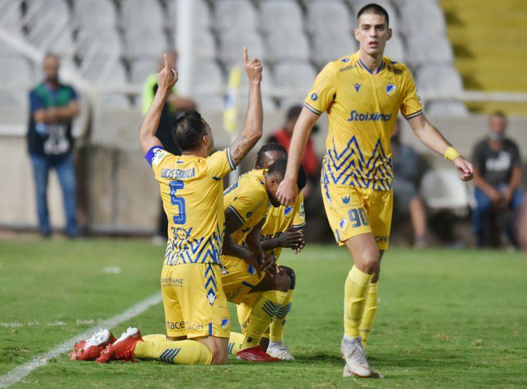 Λυτρωτής ο Σόουζα, πρώτη νίκη για το ΑΠΟΕΛ!