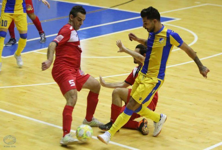 Κύπελλο Futsal: ΑΕΛ – Ομόνοια 3-7, Αραράτ – ΑΠΟΕΛ 2-3 για την ημιτελική φάση