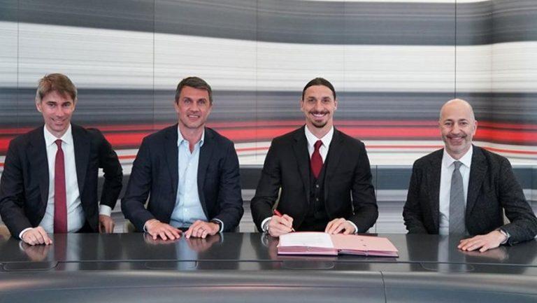 Επίσημο: Στη Μίλαν και τη νέα σεζόν ο Ιμπραΐμοβιτς!