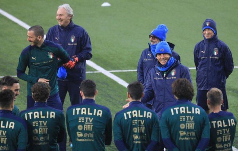 Εμβολιάστηκαν οι παίκτες της εθνικής Ιταλίας ενόψει Euro