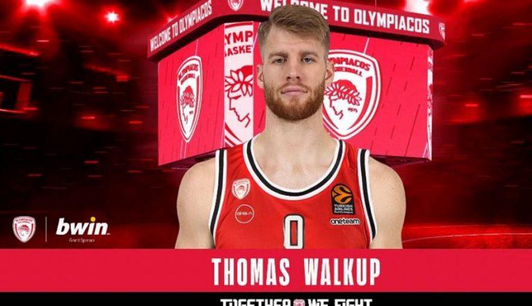 Επίσημο: Στον Ολυμπιακό ο Γουόκαπ!