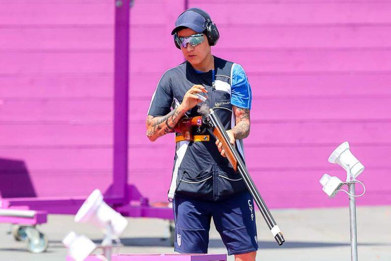 7η Ολυμπιονίκης η Άντρη Ελευθερίου!