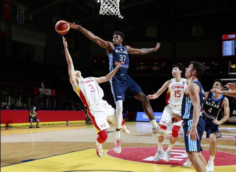 Διέλυσε την Κίνα η Εθνική Ελλάδας, στα ημιτελικά με Τουρκία