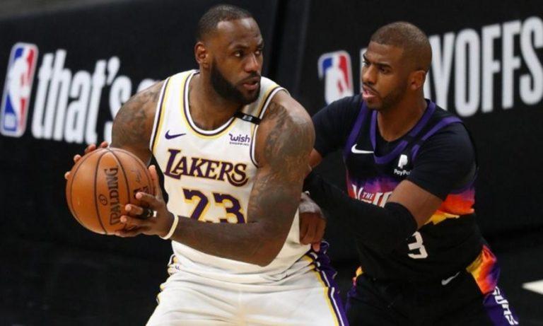 Ο ΛεΜπρόν Τζέιμς στηρίζει Φοίνιξ Σανς και Κρις Πολ στους τελικούς του NBA!