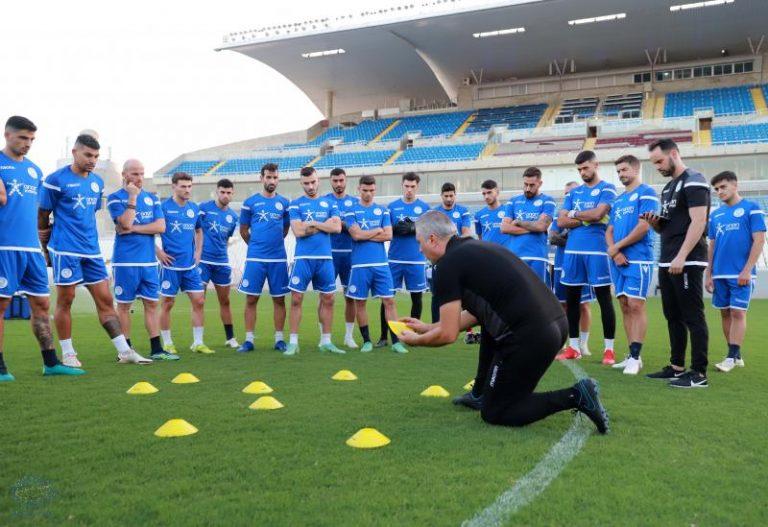 Άρχισε προετοιμασία για τον αγώνα με τη Μάλτα η Εθνική Ανδρών