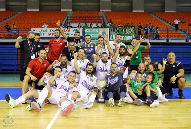 Η Ομόνοια κατέκτησε τον πρώτο τίτλο της χρονιάς στο Futsal