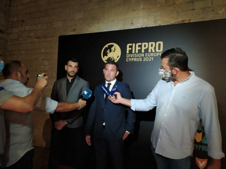 Ξεκίνησε το κογκρέσο της FIFPRO EUROPE στη Λεμεσό!
