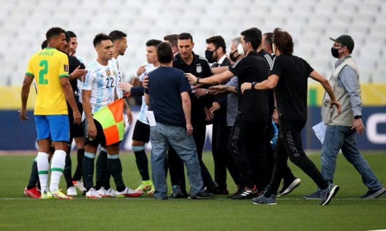 FIFA: Τι λέει ο κανονισμός για την διακοπή στο Βραζιλία – Αργεντινή