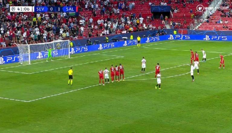 Σεβίλλη – Ζάλτσμπουργκ: Γράφτηκε ιστορία στο Champions League με 4 πέναλτι σε ένα ημίχρονο