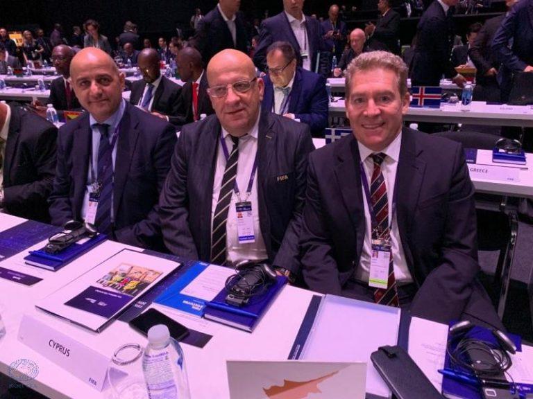 Αντιπρόεδρος της Επιτροπής Σταδίων και Ασφάλειας της UEFA ο Φοίβος Βάκης!