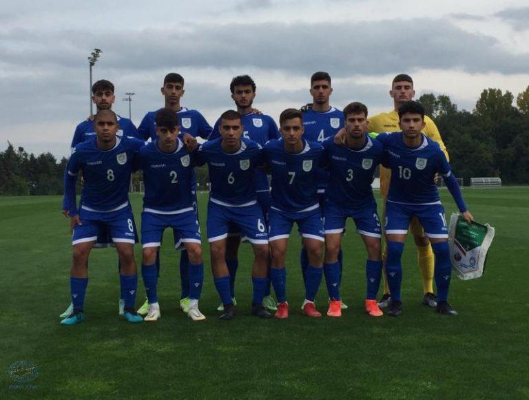 Φιλική ήττα της Εθνικής Παίδων από τη Βουλγαρία