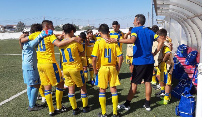 Αποτελέσματα πρεμιέρας (Παγκύπριο Πρωτάθλημα Κ-15)